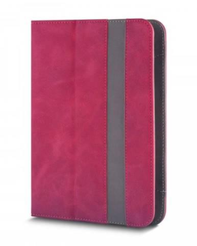 """Knižná puzdro Fantasia na tablet 7-8"""", červená koža"""