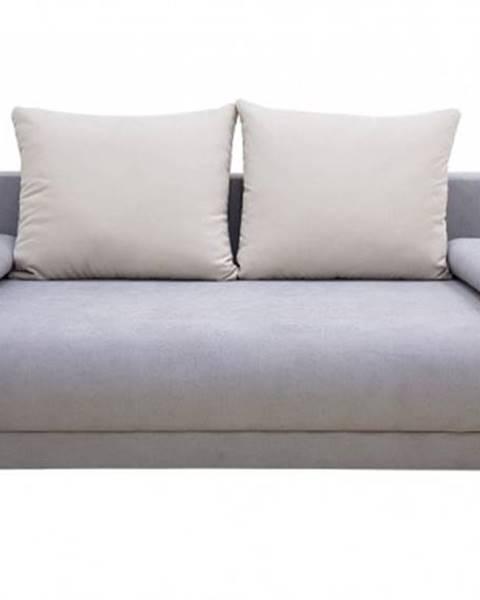 OKAY nábytok Trojsedačka Fano rozkladacia s ÚP sivá