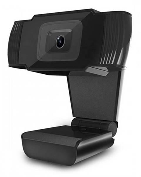 Powerton Webkamera Powerton HD PWCAM1, 720p, USB, čierna
