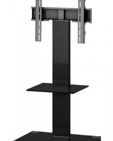 """Stolík pre TV Sonorous PL 2515 B-HBLK, max. 50""""a 50kg, čierny"""