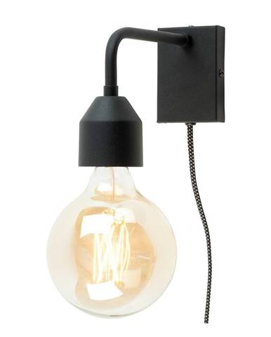 Čierna nástenná lampa Citylights Madrid