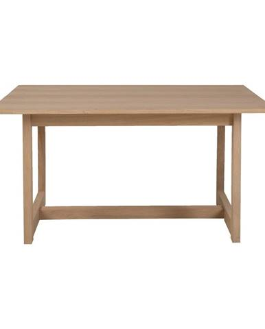 Konferenčný stolík z dubového dreva Canett Binley, 120 x 75 cm
