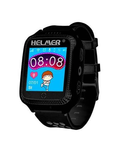 Inteligentné hodinky Helmer LK 707 dětské s GPS lokátorem čierny