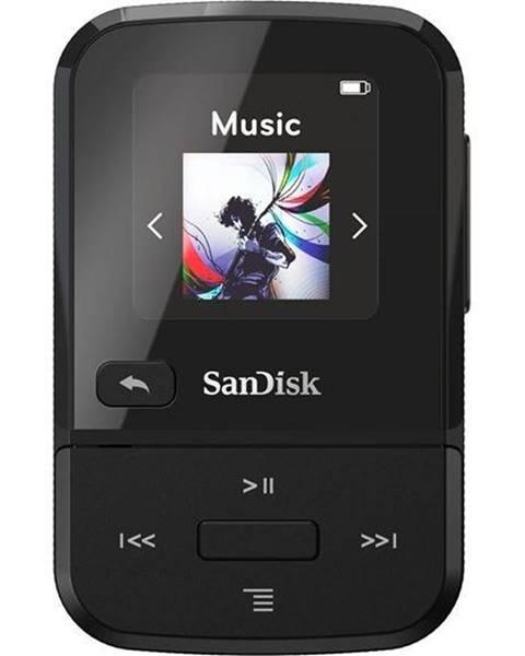 Sandisk MP3 prehrávač Sandisk Clip Sport Go 16 GB čierny