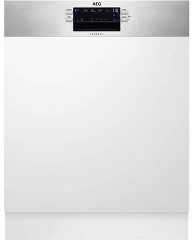 Umývačka riadu AEG Mastery Fee53670zm nerez