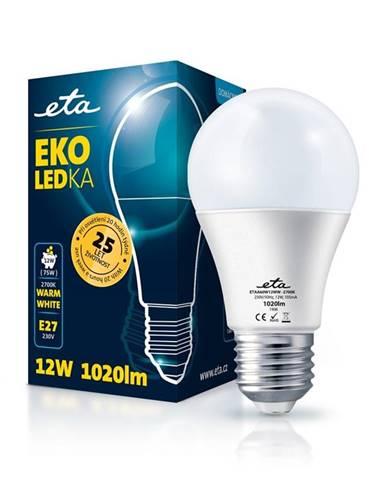 LED žiarovka ETA EKO LEDka klasik 12W, E27, teplá bílá