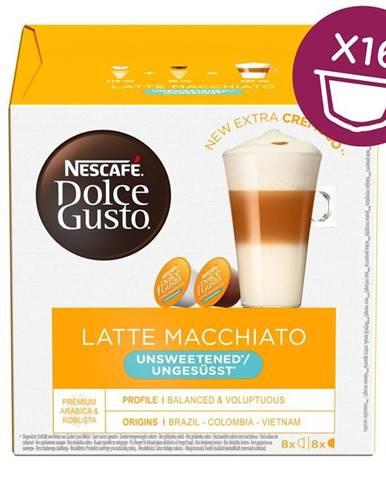 NescafÉ Dolce Gusto® Latte Macchiato Unsweetened kávové kapsle 16