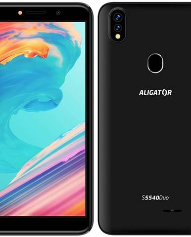 Mobilný telefón Aligator S5540 Dual SIM čierny