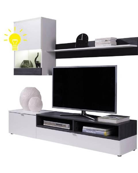 Tempo Kondela LED osvetlenie ku obývacej stene ROSO