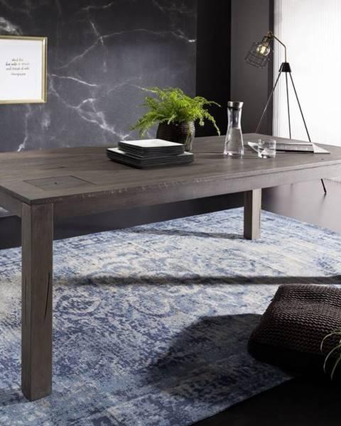 Bighome.sk TAMPERE Jedálenský stôl 200x100 cm, dub, dymová