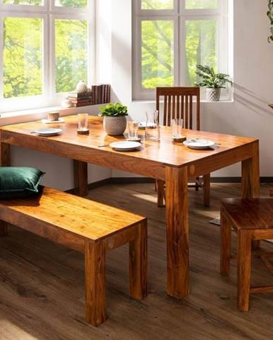 CAMBRIDGE HONEY Jedálenský stôl 100x90 cm, akácia
