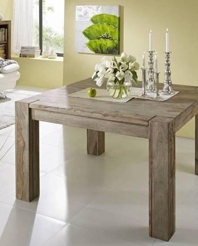 GREY WOOD Jedálenský stôl 120x100 cm, palisander
