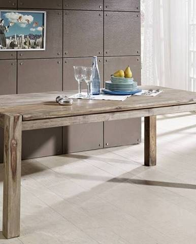 GREY WOOD Jedálenský stôl 120x90 cm, palisander