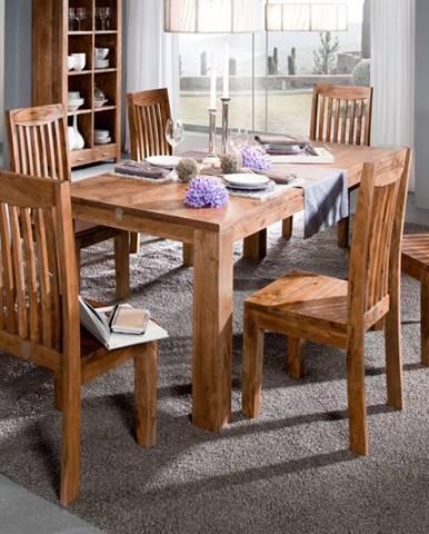 KOLINS Jedálenský stôl 160x90 cm, akácia