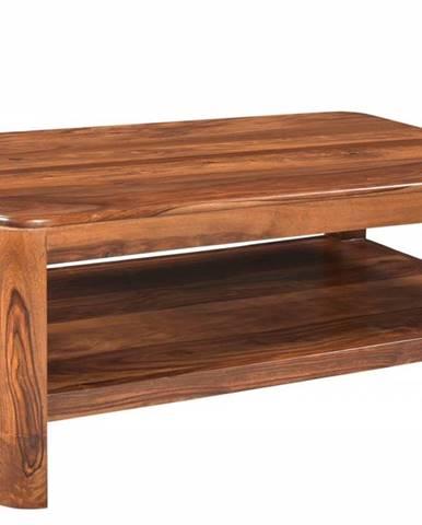 MONTREAL Konferenčný stolík 120x70 cm, hnedá, palisander