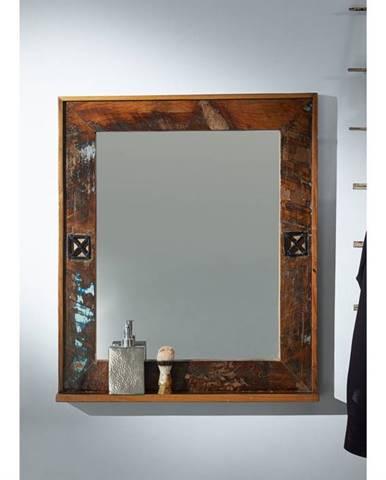 OLDTIME BAD Zrkadlo 68x79 cm, staré drevo