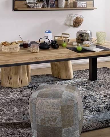TIROL Jedálenský stôl 178x90 cm, prírodná, dub