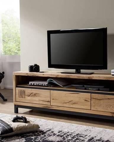 TIROL TV stolík 170x56, prírodná, dub