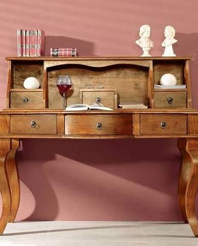 CAMBRIDGE HONEY Písací stôl 130x60 cm, akácia