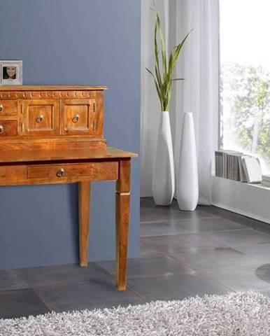 CAMBRIDGE HONEY Písací stôl 85x68 cm, akácia