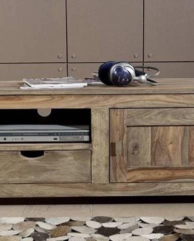 GREY WOOD TV stolík 108x45 cm, palisander