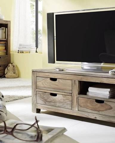 GREY WOOD TV stolík 108x45 cm