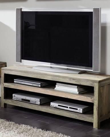GREY WOOD TV stolík 140x50 cm, palisander