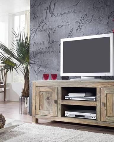 GREY WOOD TV stolík 145x60 cm, palisander