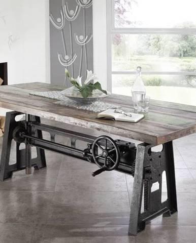 INDUSTRY Jedálenský stôl 200x100 cm, staré drevo