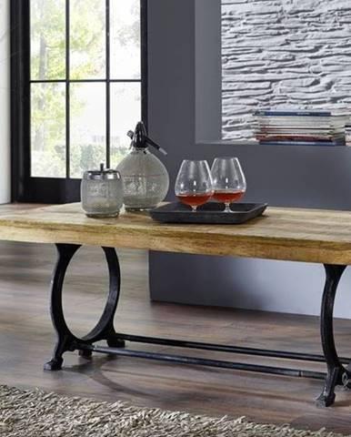 INDUSTRY Konferenčný stolík 120x60 cm, staré drevo