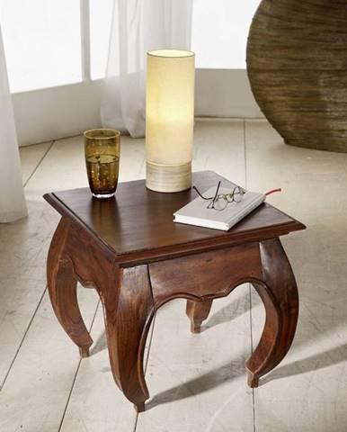 ORIENT Nočný stolík 45x45 cm, akácia