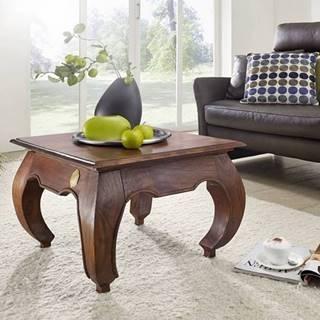 ORIENT Konferenčný stolík 60x60 cm, akácia