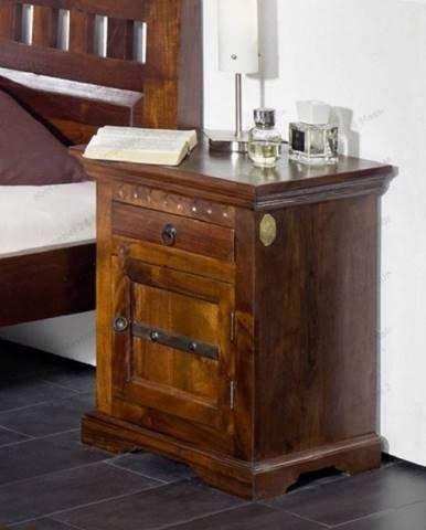 CAMBRIDGE Nočný stolík 45x40 cm, akácia