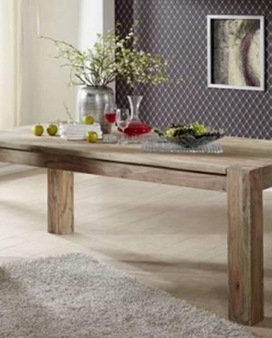 GREY WOOD Jedálenský stôl 160x100 cm, palisander
