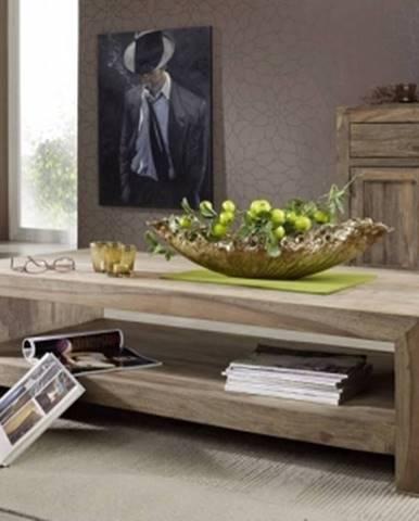 GREY WOOD Konferenčný stolík 135x70 cm, palisander