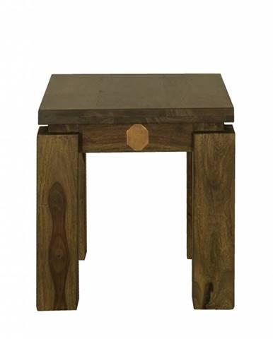 MONTANA Príručný stolík 40x40 cm, palisander