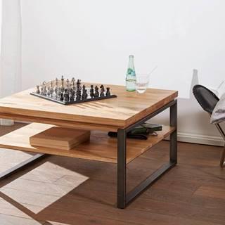 WAGGA Konferenčný stolík 80x80 cm, dub