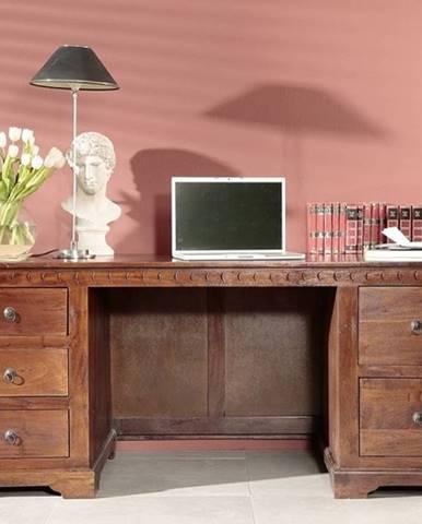 CAMBRIDGE Písací stôl 180x80 cm, akácia