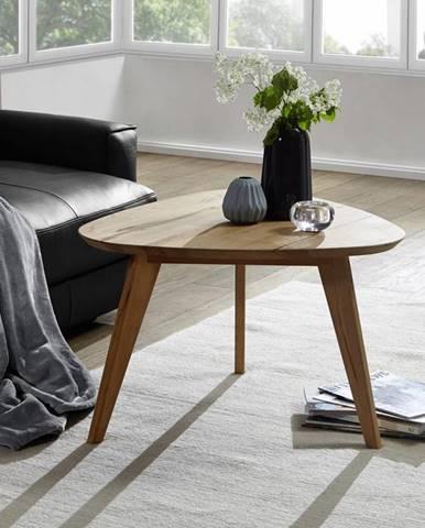 DARWIN Konferenčný stolík 67x73 cm, dub