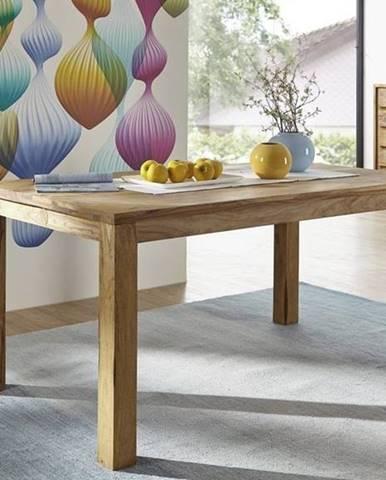LIGHT WOOD Jedálenský stôl 160x90 cm, palisander