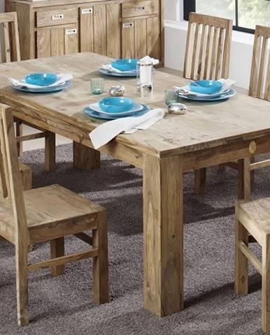 LIGHT WOOD Jedálenský stôl 220x100 cm, palisander