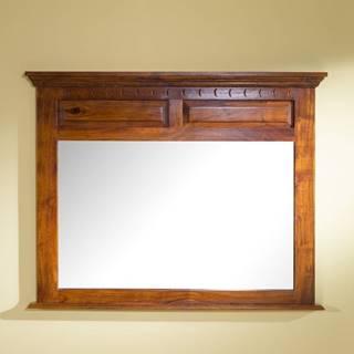 CAMBRIDGE HONEY Zrkadlo 110x87 cm, akácia