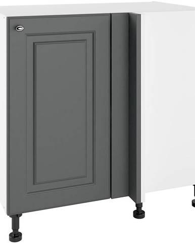 Kuchynská skrinka Bella Graphite Super Mat PNPO 105