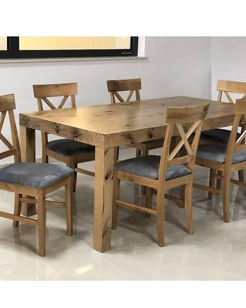 MERKURY MARKET Jedálenský stôl 140x80+40