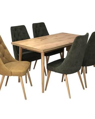Jedálenský stôl St-02 140x80+40 D.Wotan