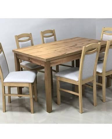 Jedálenský stôl St-874 140x80+40