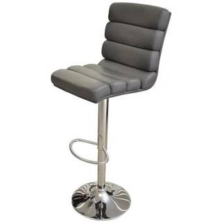 Barová stolička Alpha sivá 7868
