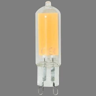 Žiarovka LED POLUX G9 COB 4W 420LM SZKLANY 4000K 310293