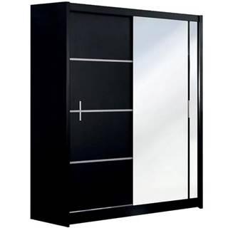 Skriňa Vista 150 cm zrkadlo