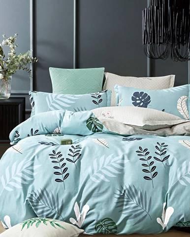 Bavlnená saténová posteľná bielizeň ALBS-01191B/3 200x220